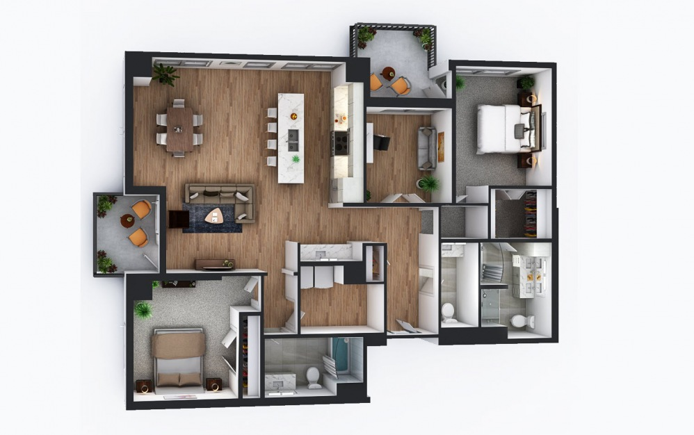 Lakehaus MPLS Apartments - Condo-style Penthouses